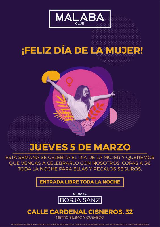 Feliz Dia De La Mujer Malaba Club Una mujer nos trae a esta tierra. feliz dia de la mujer malaba club